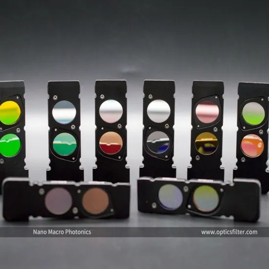 Optical filters|Band pass filter|mirror filter|Optical lenses|Prism