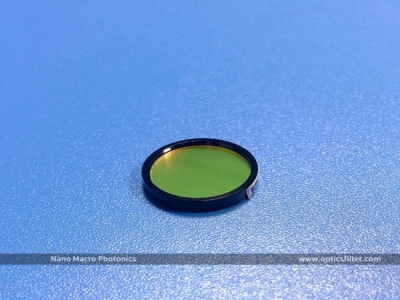Optical 532nm Narrow Bandpass Filter for Laser Application