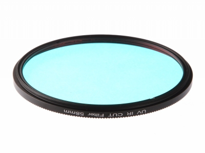 Customized Qb21 UV-IR Cut Blue Optical Glass Filter