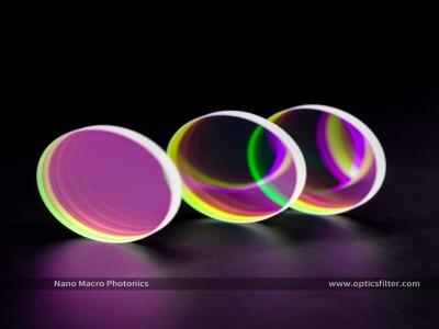High Precision Customized 405nm Visible Light Optical Glass Narrow Bandpass Filter