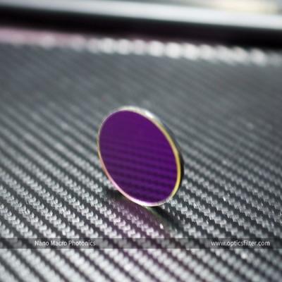 Optical 475nm Narrow Band Pass IR Cut Filter