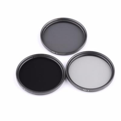 Professional Black ND2-ND400 Adjustable Camera Neutral Density Filter ND Filter